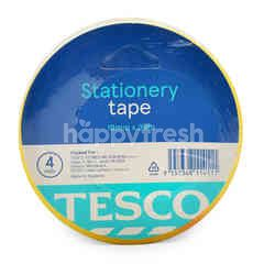 Tesco Stationery Tape 18mm X 36m (4 Roll)
