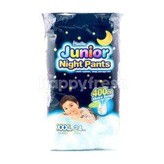 MamyPoko Junior Night Baby Boy Pants Diapers XXXL (24 pieces)