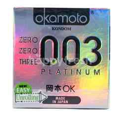 Akamoto Zero Zero Three 003 Platinum