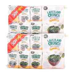 Manjun Sea Salt Laverland Crunch (30 Packets) Twinpack
