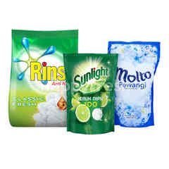 Unilever Rinso, Molto, Sunlight Ultimate Cleaning Kit 1