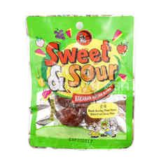 SWEET & SOUR Dried Fruit