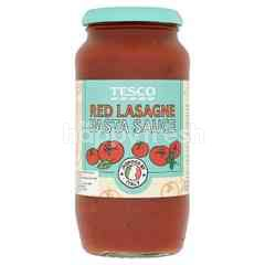 Tesco Pasta Sauce - Red Lasagne