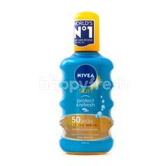 Nivea Sun Protect & Refresh Sun Spray 50 High Sunscreen