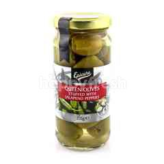 EPICURE Queen Olives Stuffed With Jalapeno Peppers