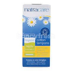 NatraCare Regular Cotton Tampons (16 pieces)
