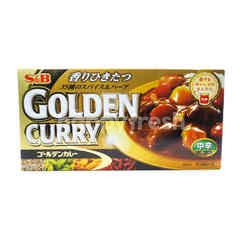 S&B Golden Curry Sauce M Hot