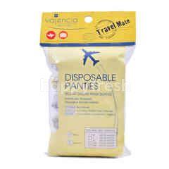 Travel Mate Cotton Disposable Panties