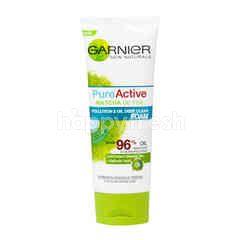 Garnier Skin Naturals Pure Active Matcha De-Tox Pollution & Oil Deep Clean Foam
