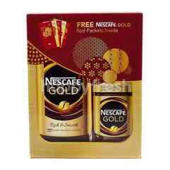 Nestle Nescafe Gold Coffee Powder (2 Packet)