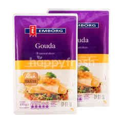 Emborg Gouda Cheese 150g Twinpack