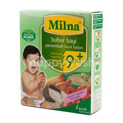 Milna Instant Powdered Supplement Food for Baby with Teriyaki Sweet Chicken Flavor