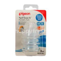 Pigeon SofTouch Peristaltic Plus Nipple M