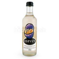 Esprit Fruit Juice Sparkling Water with Passion Fruit Flavor