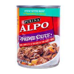 Purina Alpo Prime Cuts Canned Food