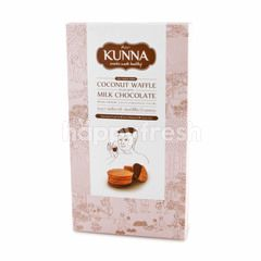 Kunna Coconut Waffle Filled With Milk Chocolate