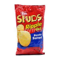 Eta Ripple Cut Ready Salted Potato Chips