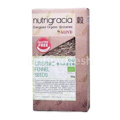 NUTRIGRACIA Organic Fennel Seeds