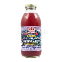Bragg Organic Apple Cider Vinegar Concord Grape - Acai