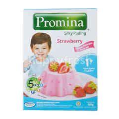 Promina Silky Pudding Strawberry 1+