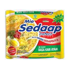 Mie Sedaap Chicken Curry Instant Soup Noodles