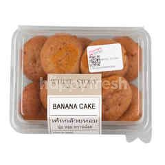 White Story Banana Cake