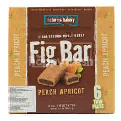 Nature's Bakery Stone Ground Whole Wheat Fig Bar Peach Apricot