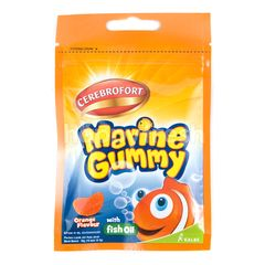 Cerebrofort Marine Gummy Orange Flavor