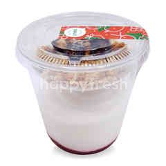 Sweet & Green Strawberry Homemade Greek Yogurt (Large Size)