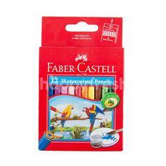 FABER CASTELL 12 Pensil Warna Cat Air