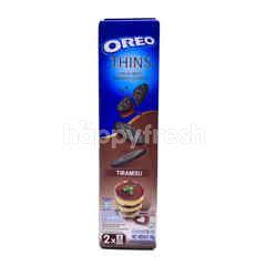 Oreo Thins & Crispy Sandwich Cookies Vanila Flavoured