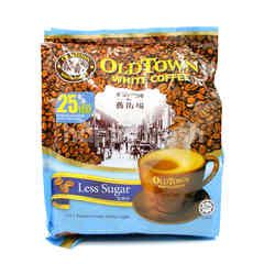 Oldtown 3 In 1 Instant Premix White Coffee Less Sugar