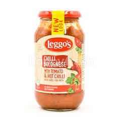 Leggo's Chilli Bolognese With Tomato & Hot Chilli Pasta Sauce
