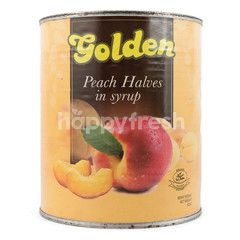 Golden Buah Persik dalam Sirup