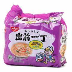 Nissin Tom Yam Flavour Instant Noodles