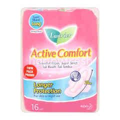Laurier Active Comfort Super Maxi Long Pad 25cm (2 Packets)