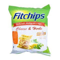 Fitchips Keripik Keju & Rempah-Rempah