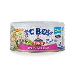 Tc Boy Tuna Solid In Brine