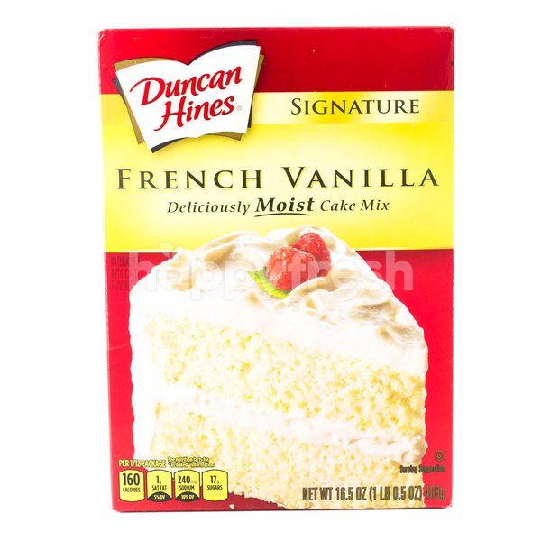 Duncan Hines French Vanilla Premix