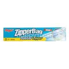 Bagus Zipperbag Double Zipper (27x28cm)