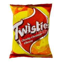 TWISTIES The Big Cheese Corn Snacks