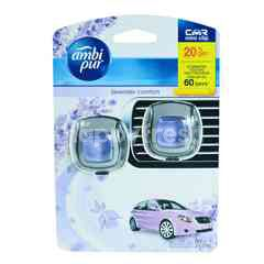 Ambi Pur Car Freshener Mini Clip Lavender Comfort