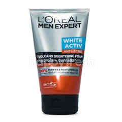 L'Oreal Men Expert Total Skin Renewer Volcano Red Foam Face Wash