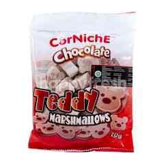 Corniche Cokelat Teddy Marshmallow