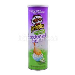 Pringles Sour Cream & Onion Flavored Reduced Fat Potato Crisps