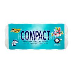 Cutie Compact Twin Ply Tissue (10 Rolls)