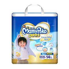 Mamy Poko Pants Extra Soft For Boys XXXL 14 Pcs