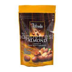 Alfredo Almond Coated in Milk Chocolate