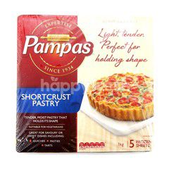 Pampas 5 Sheets Shortcrust Pastry