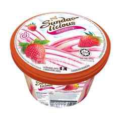 King's Sundae-Licious Strawberry Flavoured Ice Cream